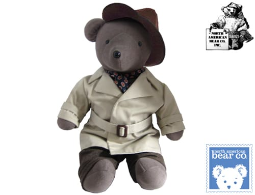North American Bear Co Humphrey Beargart c. 1999 20 inch Brown color from New York City NY USA