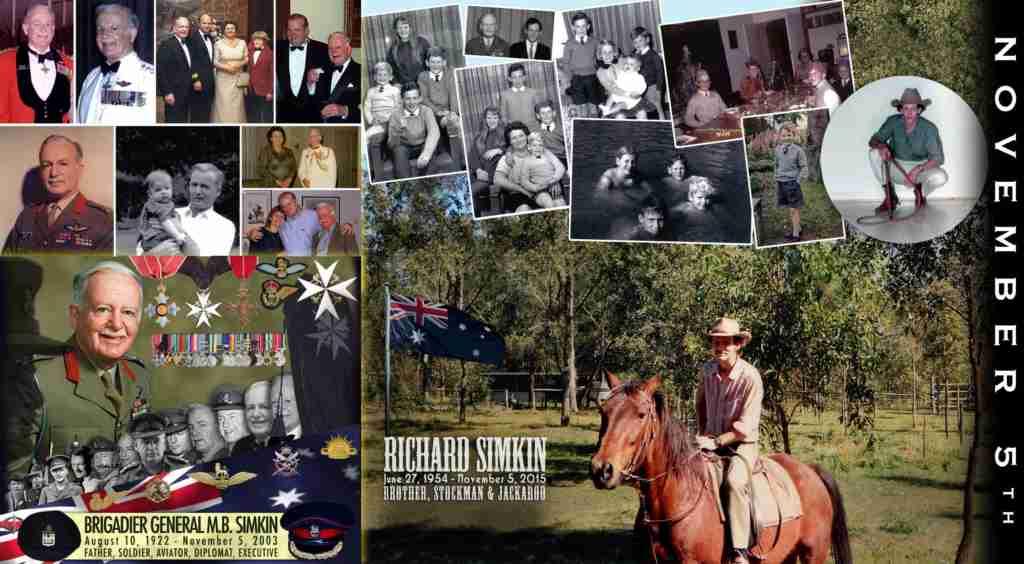 Remembering Brigadier General Max and Richard Simkin