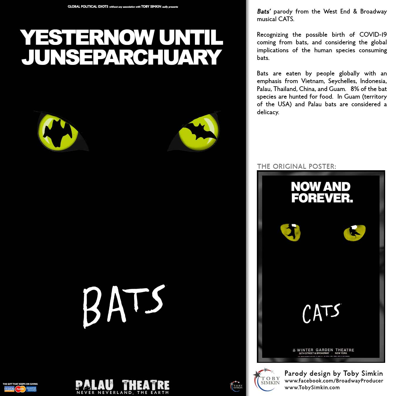 parody from the West End & Broadway musical CATS