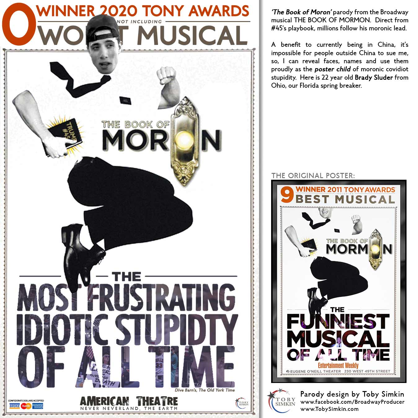 parody from the Broadway musical THE BOOK OF MORMON