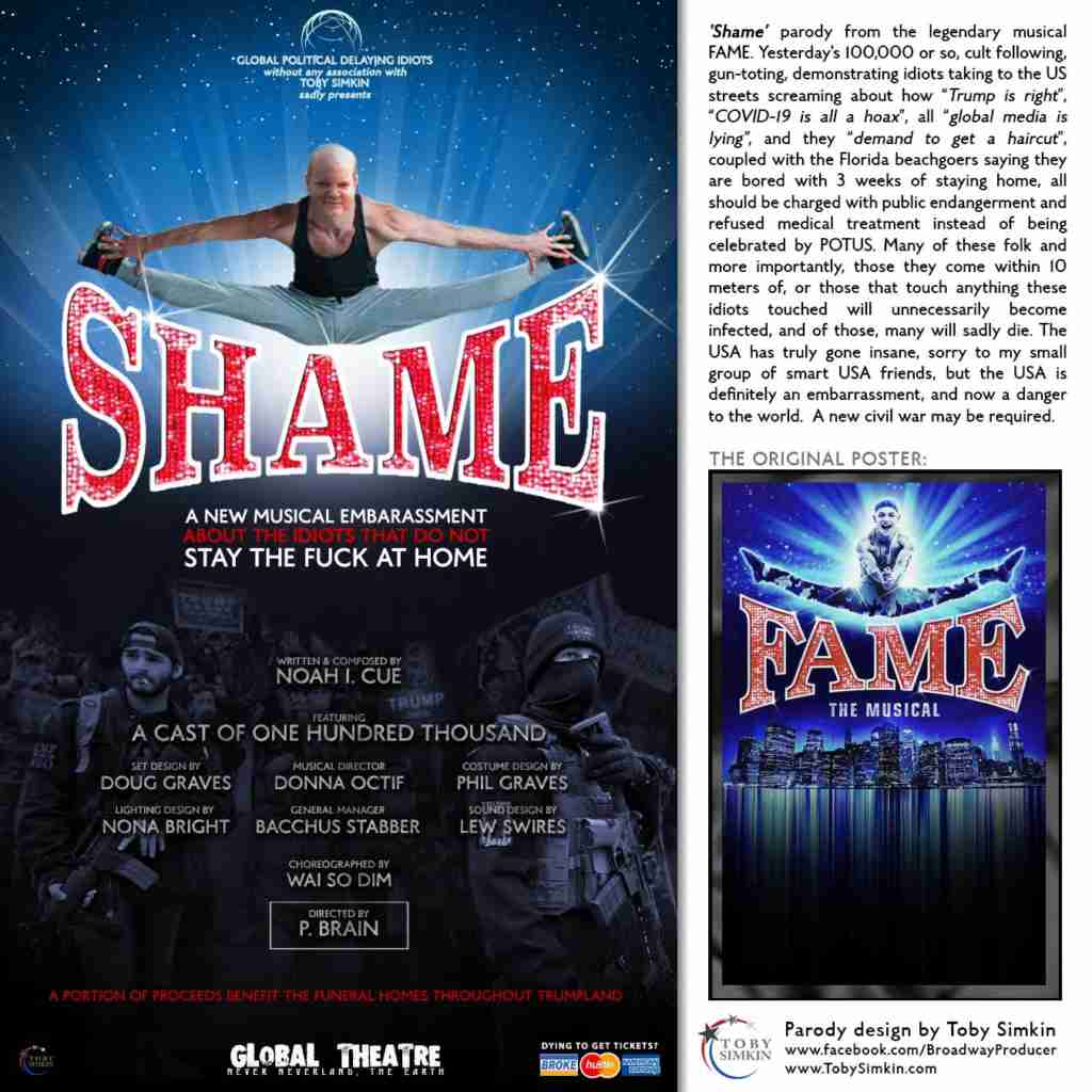 Parody...-FAME-(Re-imagined-Poster)