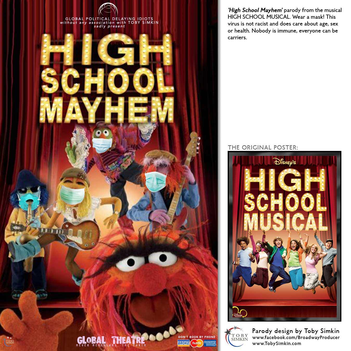 Parody Broadway Posters Re-imagined during COVID-19 | Broadway / West End