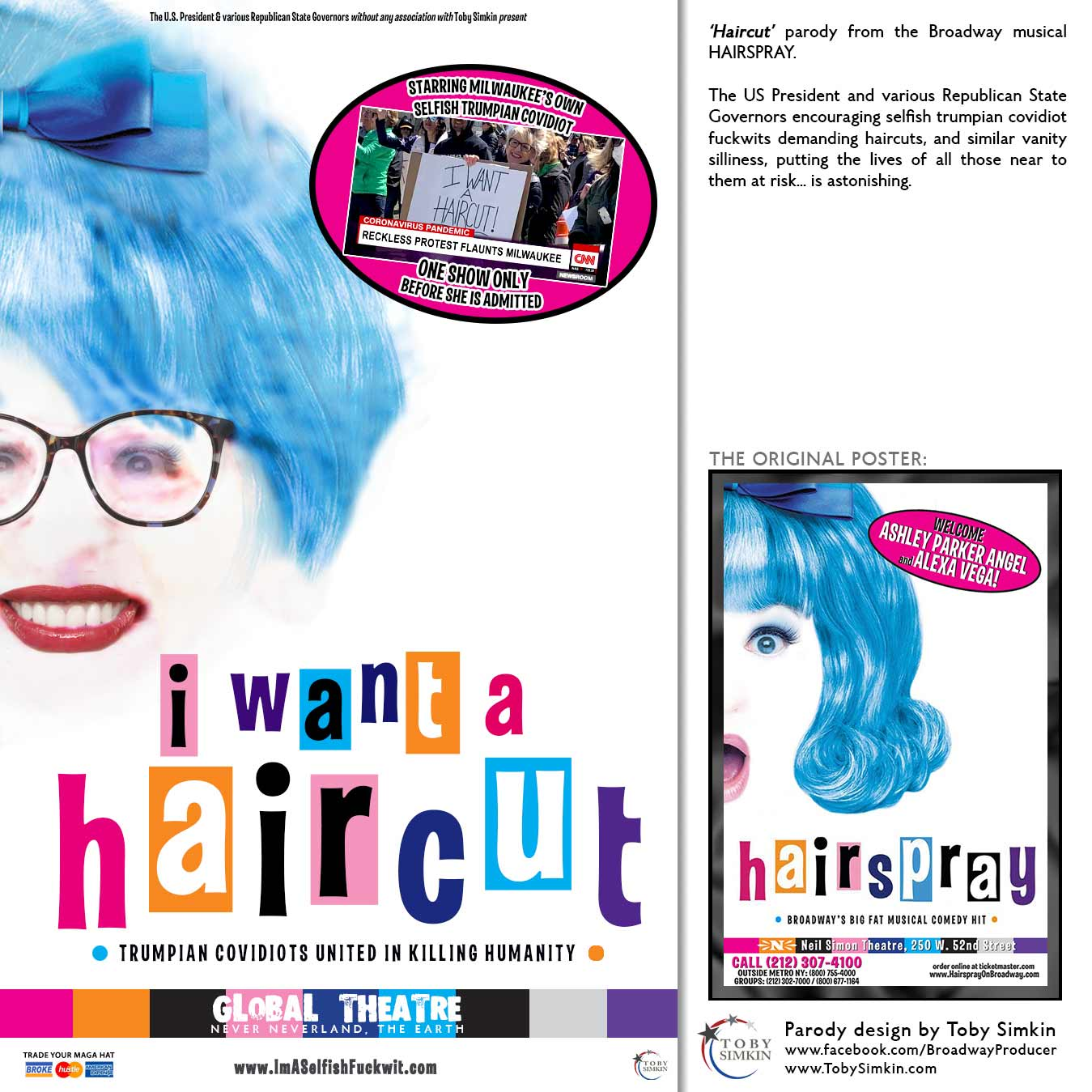 parody from the Broadway musical HAIRSPRAY