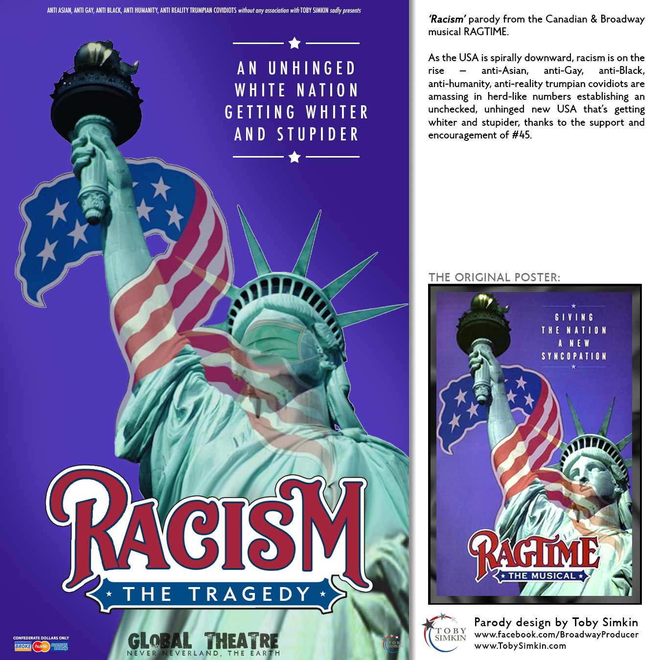 parody from the Canadian & Broadway musical RAGTIME
