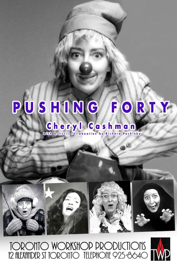 Pushing Forty Toronto Poster