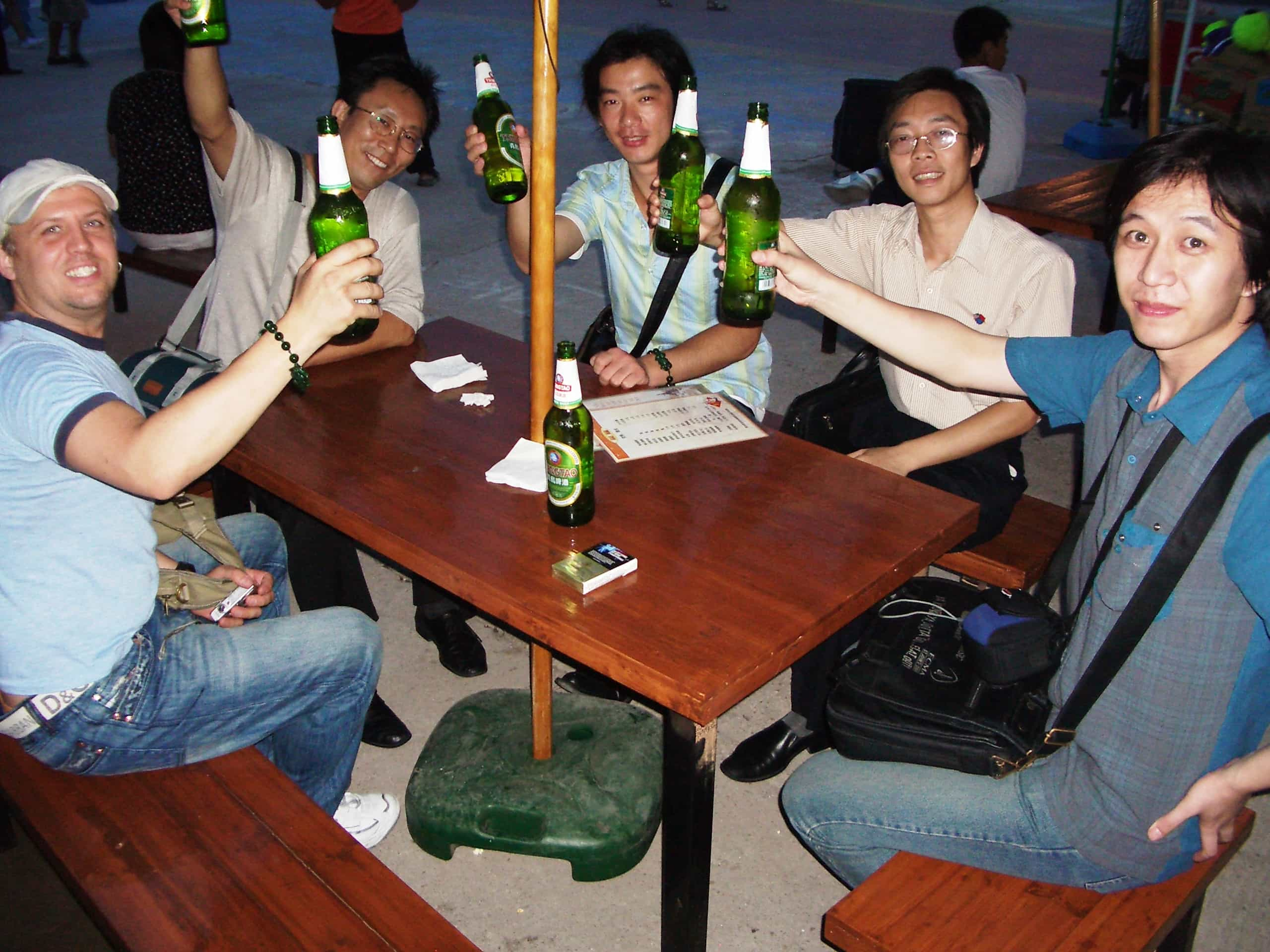 Qingdao Beer Festival Drinking