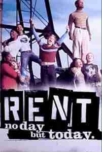 Rent (Tour) [Poster]