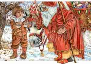 Santa Claus St Nicholas