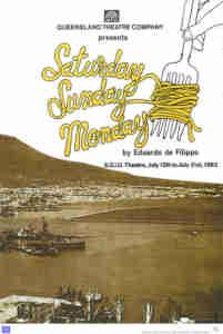 Saturday Sunday Monday (QTC Brisbane) [Poster]
