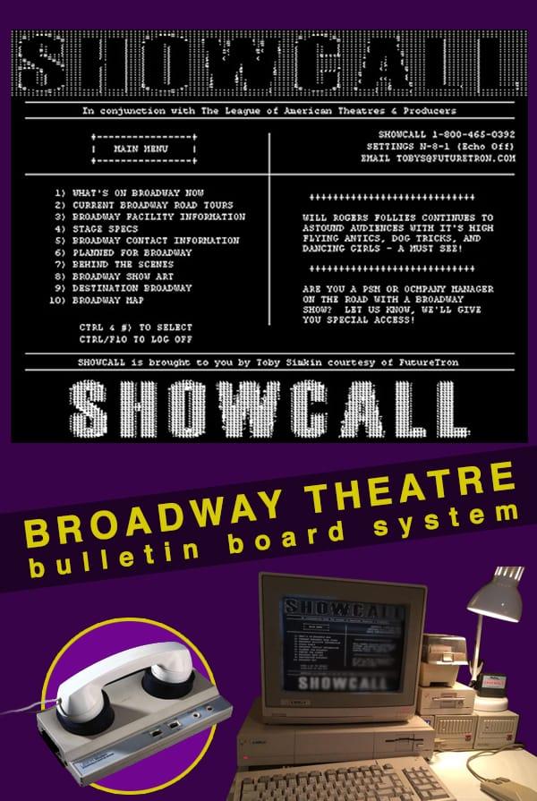 ShowCall BBS Poster
