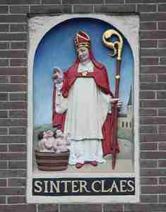 Sinterclaes saint nicolas Santa