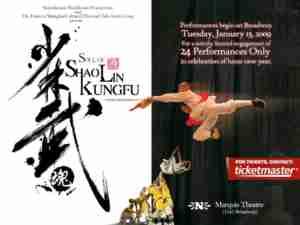 Soul Of Shaolin (Broadway)