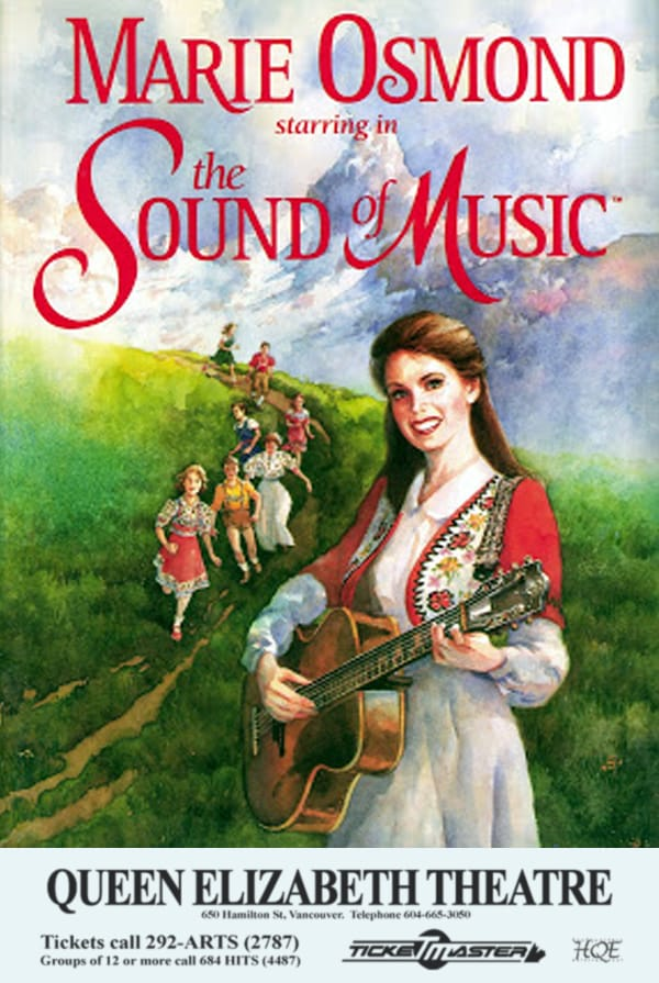 Sound of Music Vancouver Poster