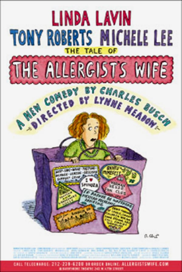 Tale of the Allergists Wife Broadway Poster
