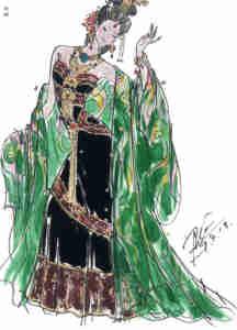 The First Emperor Costume Design 03