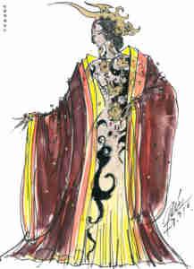 The First Emperor Costume Design 05