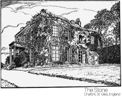 The Stone drawing Birthplace of Toby Simkin
