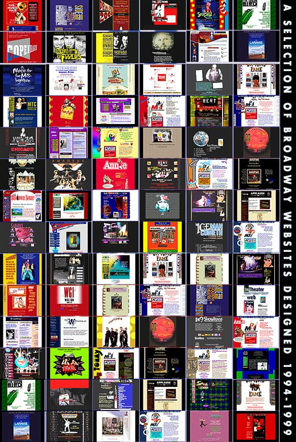 Broadway shows online history of broadway internet