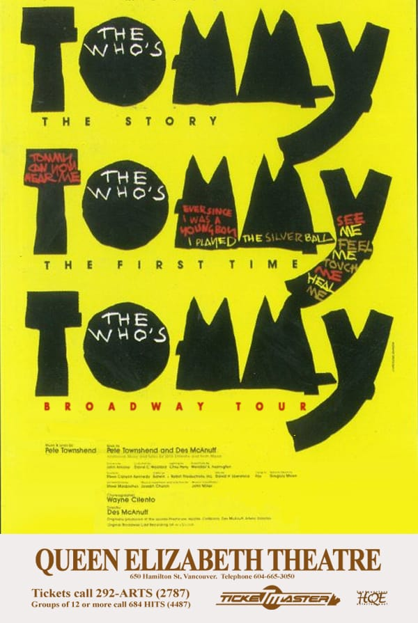 Tommy Vancouver Poster