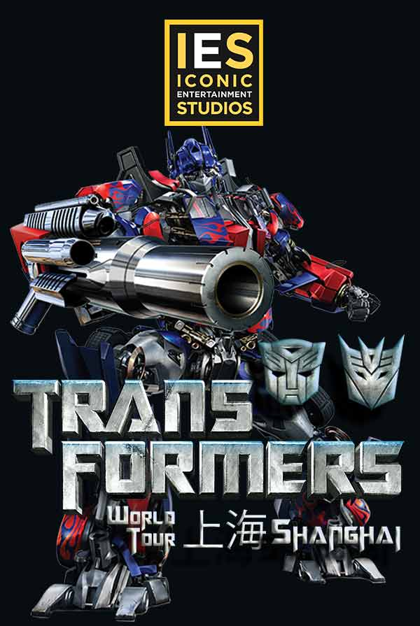 Transformers Live China Poster