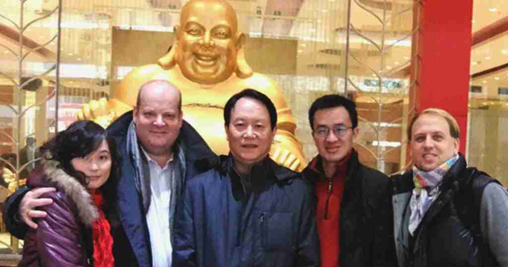 Wuhan Fame Press Conference Buddha Photo