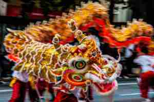 chinese new year myths monster nian
