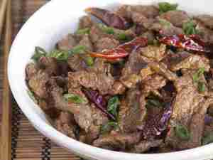 guide food HunanSpicyBeef