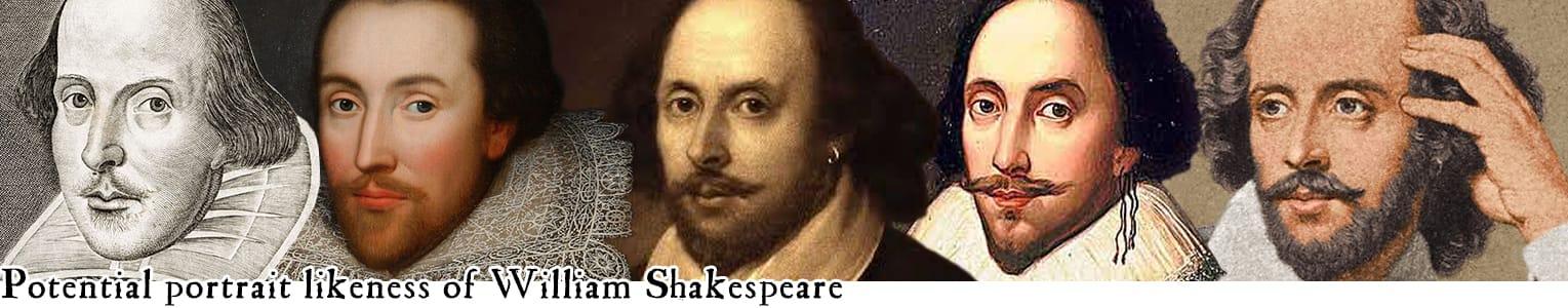 Potential portrait likeness of Willam Shakespeare (Toby Simkin's Broadway)